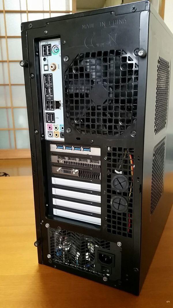 ☆ SSD 160GB + Radeon RX 470 4GB ファンレスクーラー 静音 自作 快適♪ すぐ使えます☆_画像3