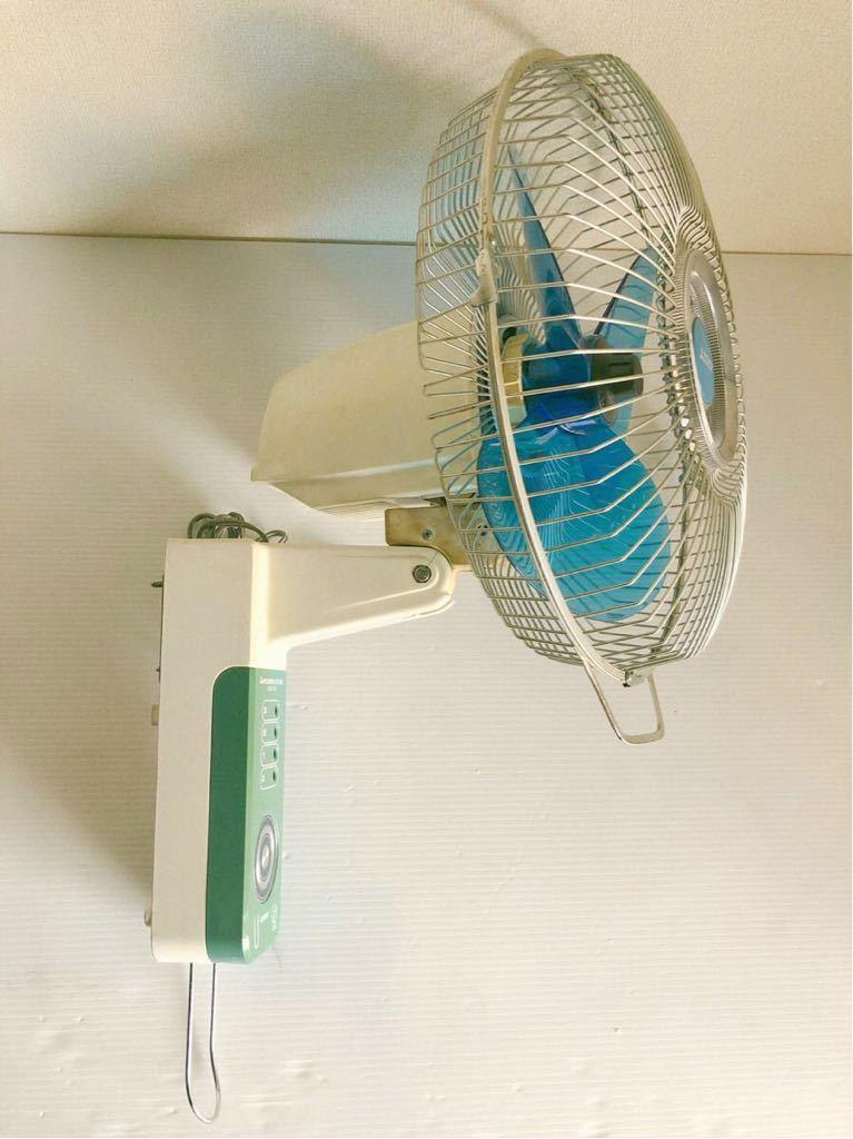当時物 レトロ家電 MITSUBISHI K30-CTB 壁掛け扇風機 レトロ居酒屋 古民家_画像5