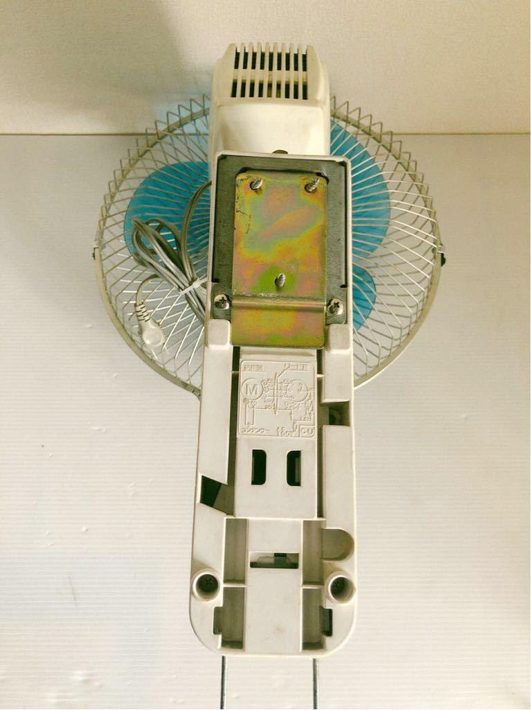 当時物 レトロ家電 MITSUBISHI K30-CTB 壁掛け扇風機 レトロ居酒屋 古民家_画像6