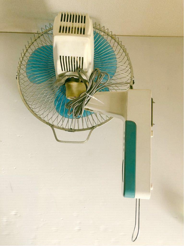当時物 レトロ家電 MITSUBISHI K30-CTB 壁掛け扇風機 レトロ居酒屋 古民家_画像7