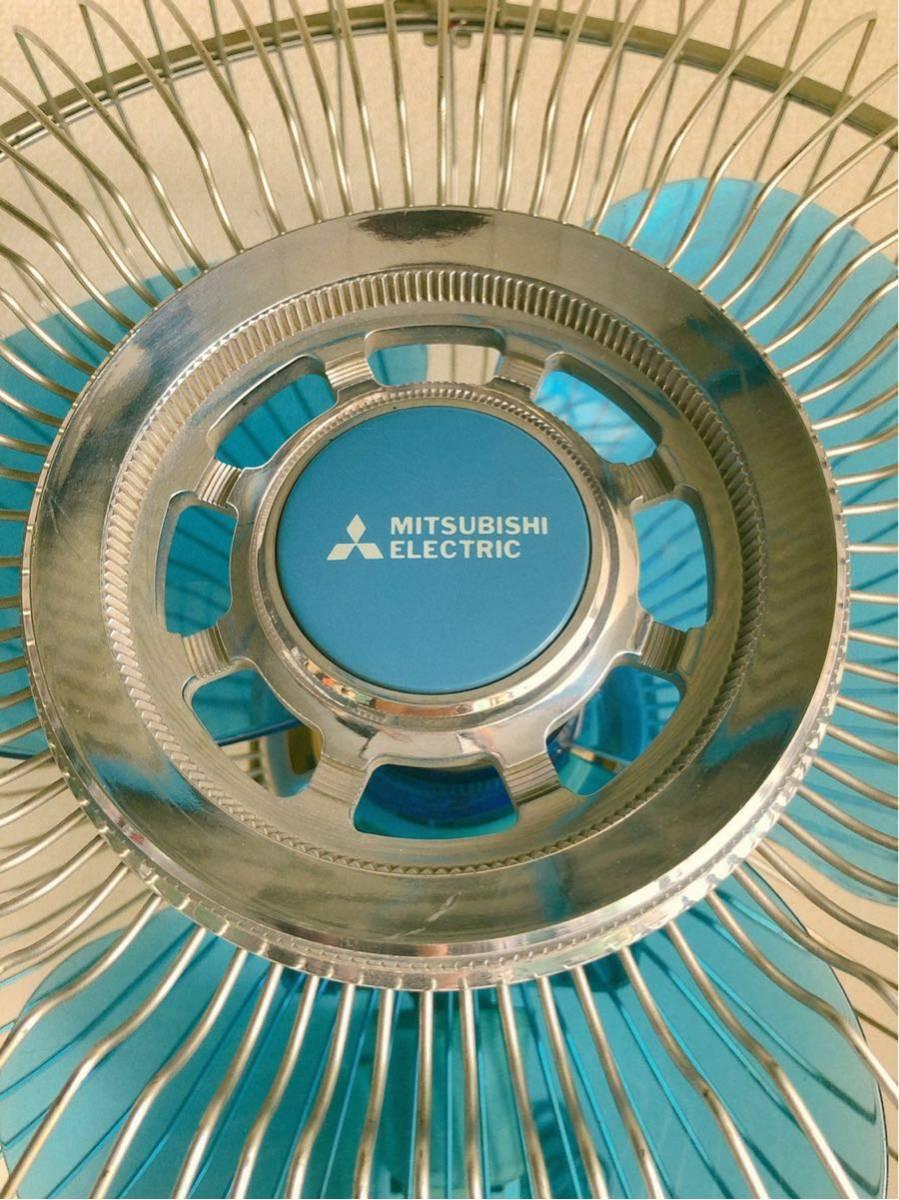 当時物 レトロ家電 MITSUBISHI K30-CTB 壁掛け扇風機 レトロ居酒屋 古民家_画像2