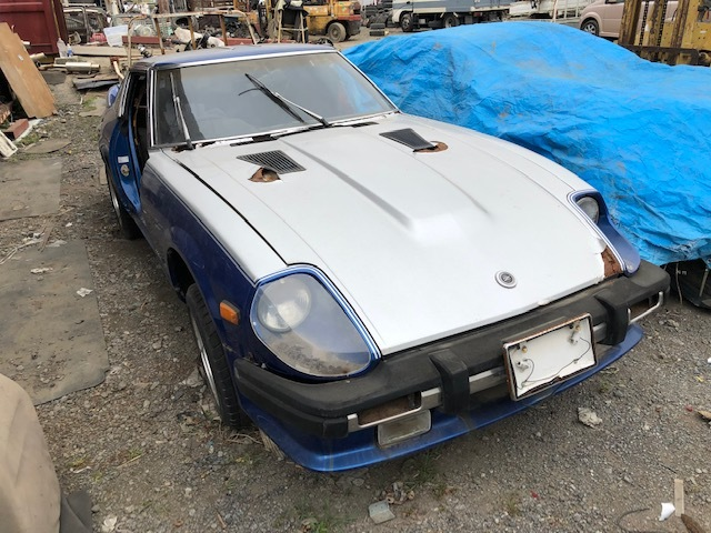 day postpartum period L28 S130Z Fairlady Z Datsun part removing car document attaching .