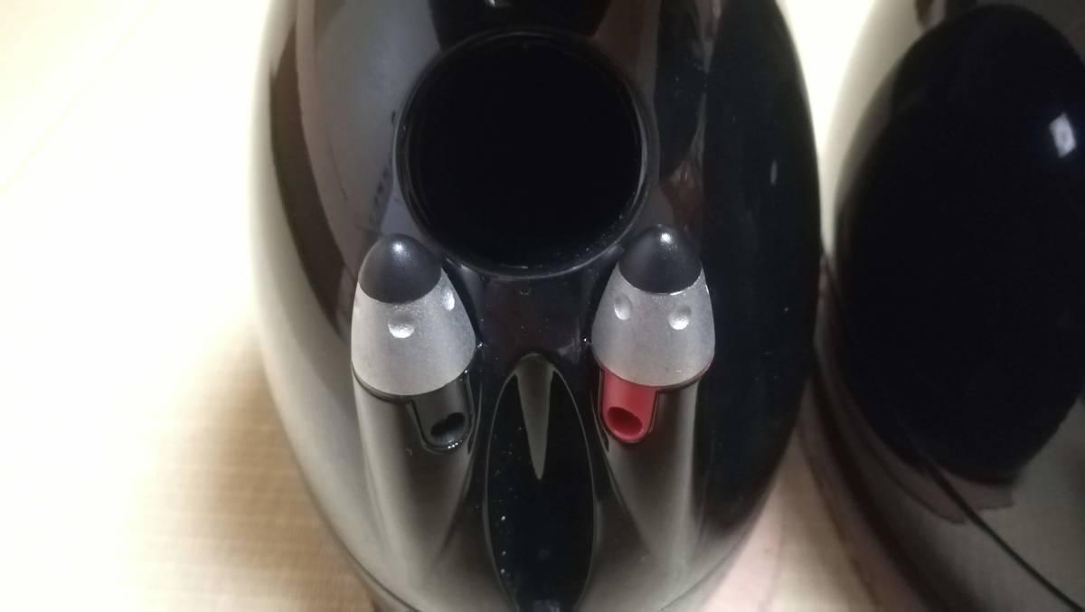 【中古美品】KEF サテライトスピーカー HTS3001SE ピアノブラック ペア_画像5