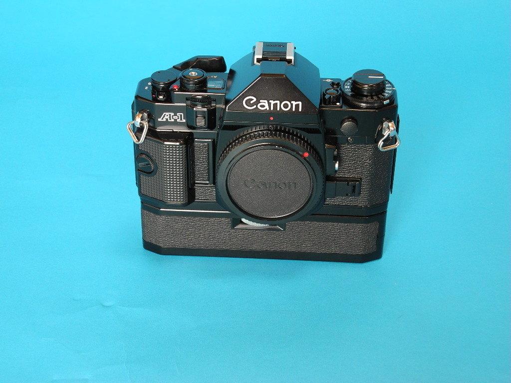 Canon A-1(オーバーホール済み)+交換レンズ3本・他