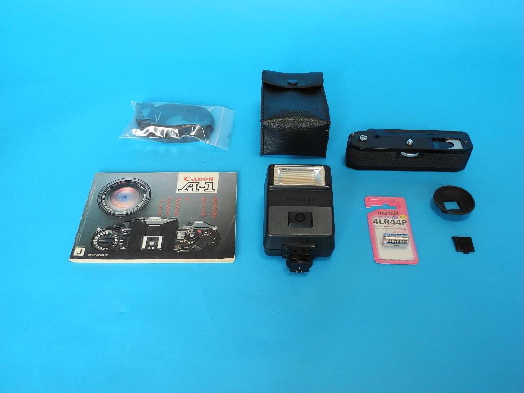 Canon A-1(オーバーホール済み)+交換レンズ3本・他_画像7