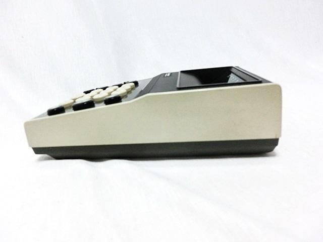 ■昭和レトロ SANYO 【サンヨー】 電卓 ICC-808DM 箱付き ジャンク ★1973年発売 当時もの レア _画像6
