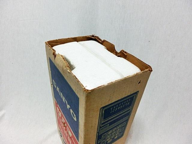 ■昭和レトロ SANYO 【サンヨー】 電卓 ICC-808DM 箱付き ジャンク ★1973年発売 当時もの レア _画像10