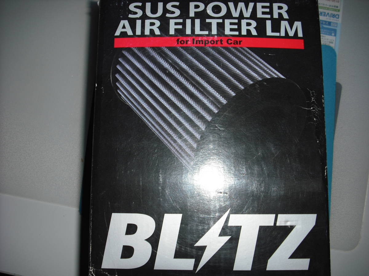 BMW E82 E87 E88 E84 E91 E92 E93 BLTZ SUSPOWER AIR FILTER LM 送料込み