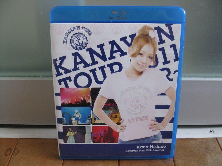 ブルーレイ/Blu-ray◆西野カナ Kanayan Tour 2011~Summer~☆美品!