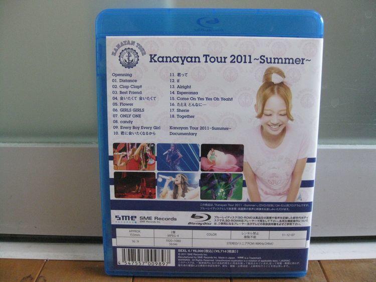 ブルーレイ/Blu-ray◆西野カナ Kanayan Tour 2011~Summer~☆美品!_画像3