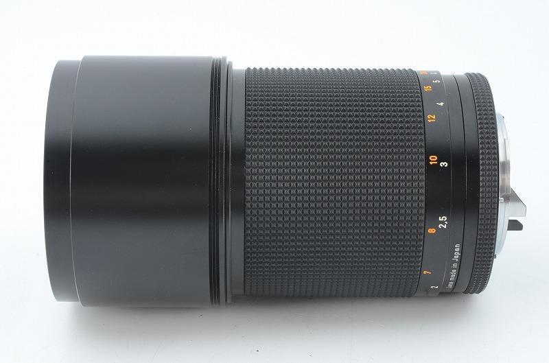 【新品級】 CONTAX Carl Zeiss Sonnar 180mm F2.8 T* MMJ RTS 元箱一式 #107832_画像5