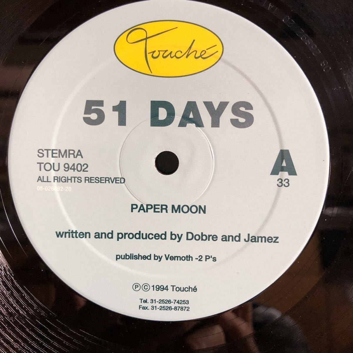 51 Days / Paper Moon / Tracktion [12inch]