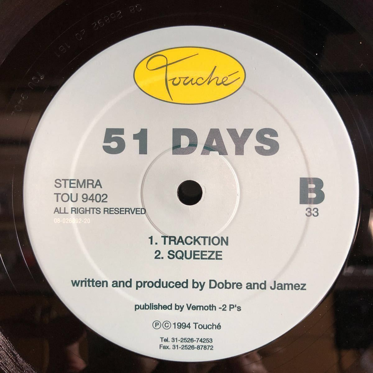 51 Days / Paper Moon / Tracktion [12inch]_画像2