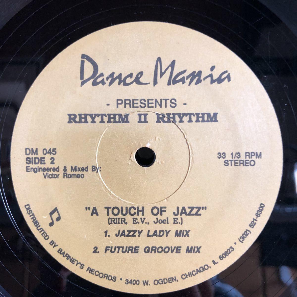 Rhytm Ⅱ Rhythm / A Touch Of Jazz [12inch]_画像2