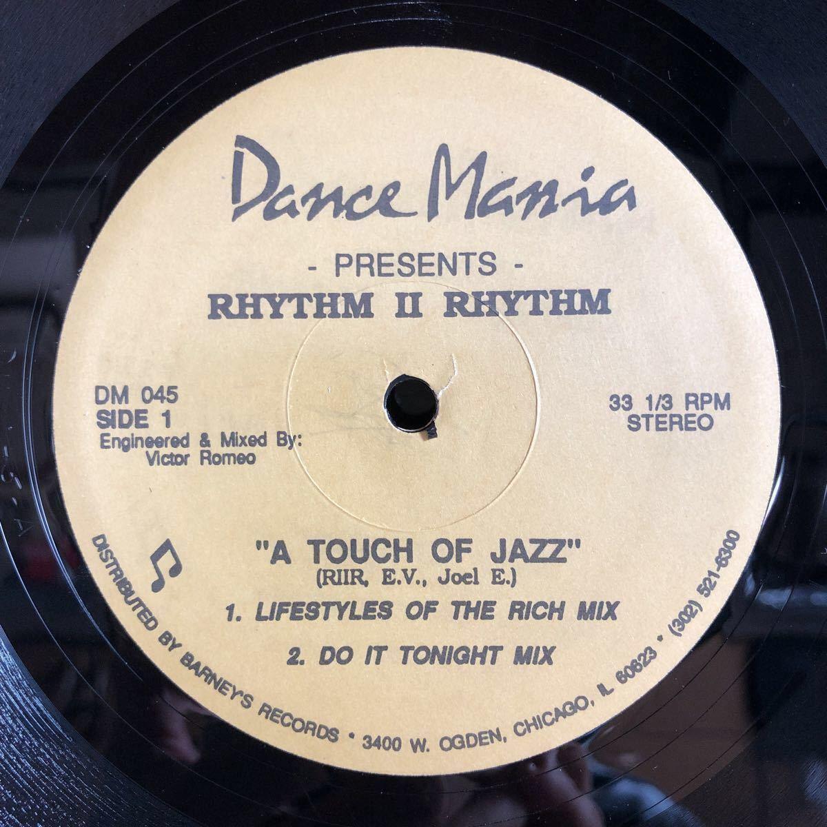 Rhytm Ⅱ Rhythm / A Touch Of Jazz [12inch]