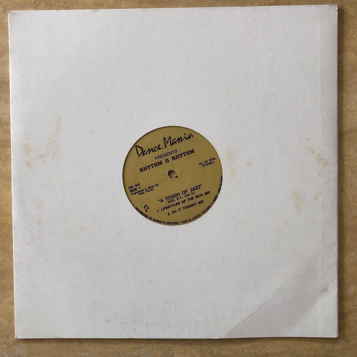 Rhytm Ⅱ Rhythm / A Touch Of Jazz [12inch]_画像3