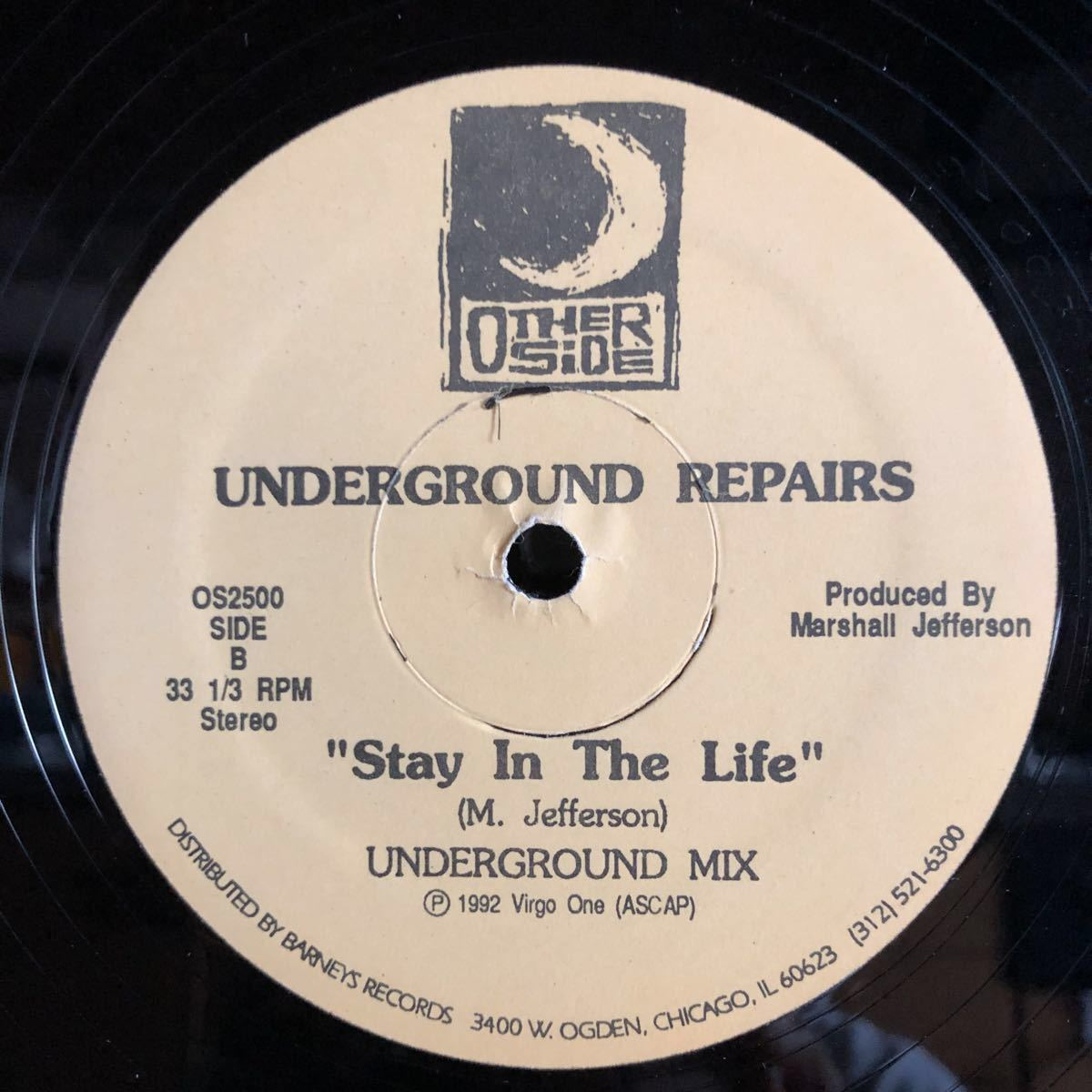 Underground Repairs / Stay In The Life [12inch]_画像2