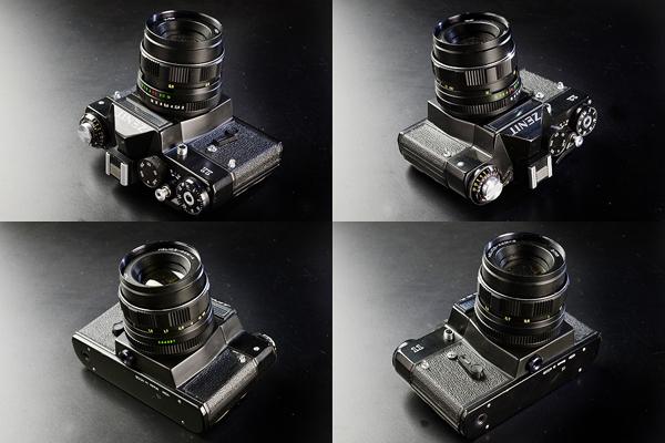 フィルムカメラ カメラ 35mm Zenit Ⅱ M42 マウントカメラ セレン式 露出計 非連動 ジャンク 中古_画像3