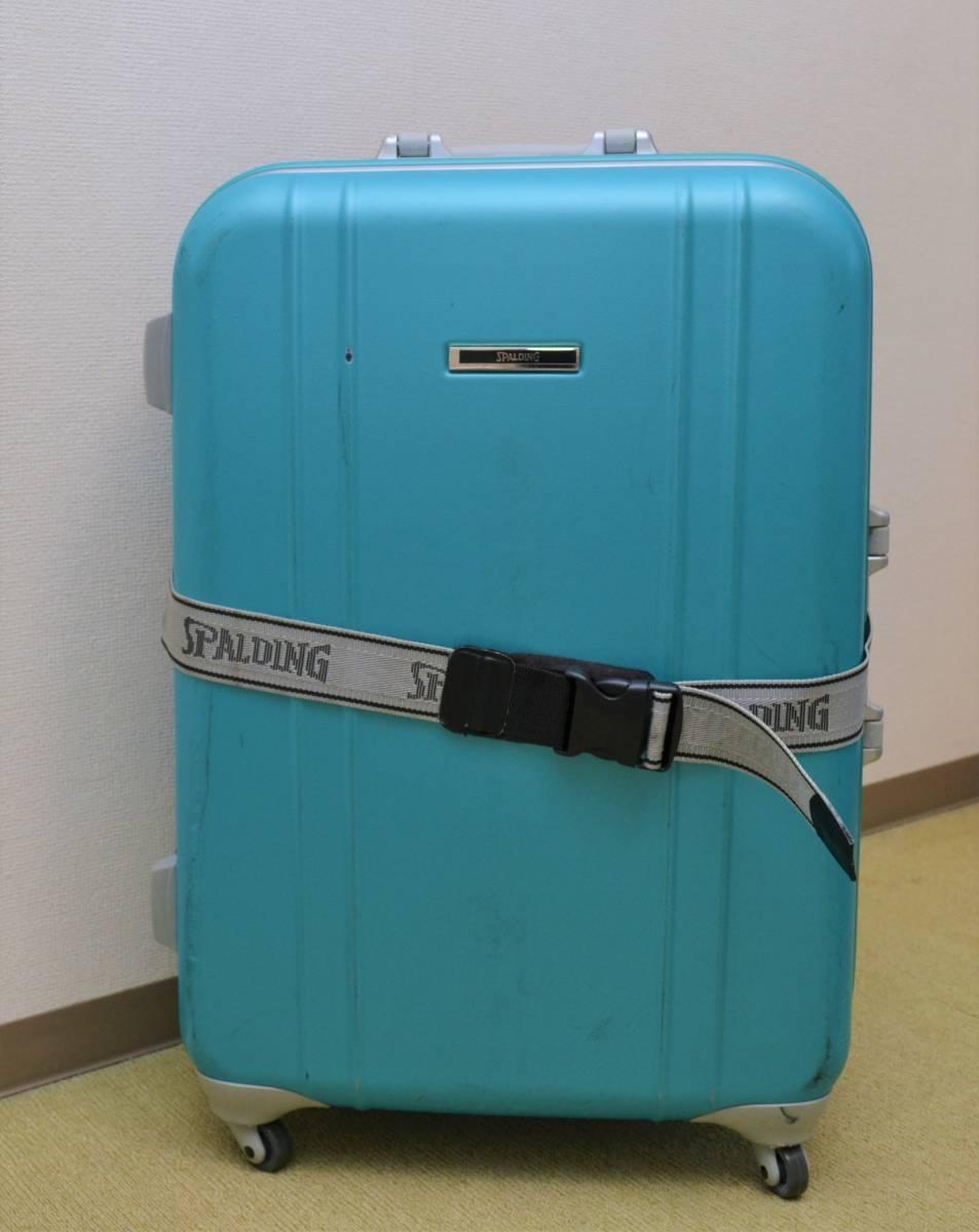 7b0f5073cc 送料無料 スポルディング SPALDING スーツケース スカイブルー ...