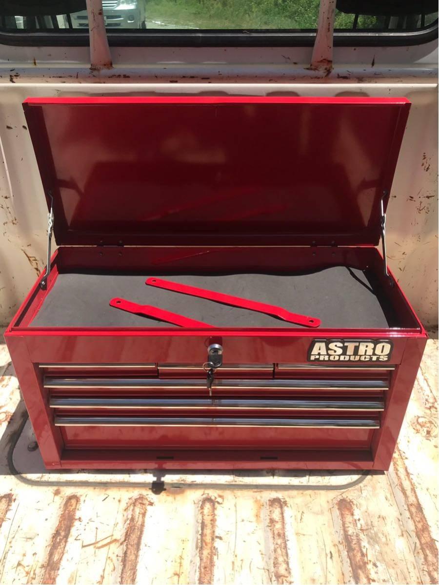 アストロプロダクツ ツールボックス 工具箱 鍵付き ASTRO PRODUCTS 道具箱_画像2