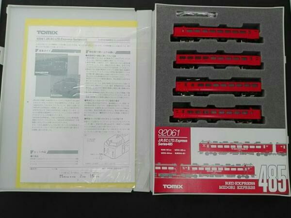 Nゲージ TOMIX 92061 JR 485系特急電車 (RED&MIDORI EXPRESS)_画像2