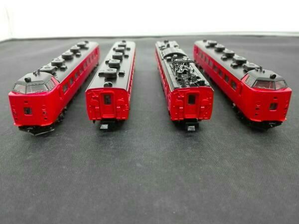 Nゲージ TOMIX 92061 JR 485系特急電車 (RED&MIDORI EXPRESS)_画像3