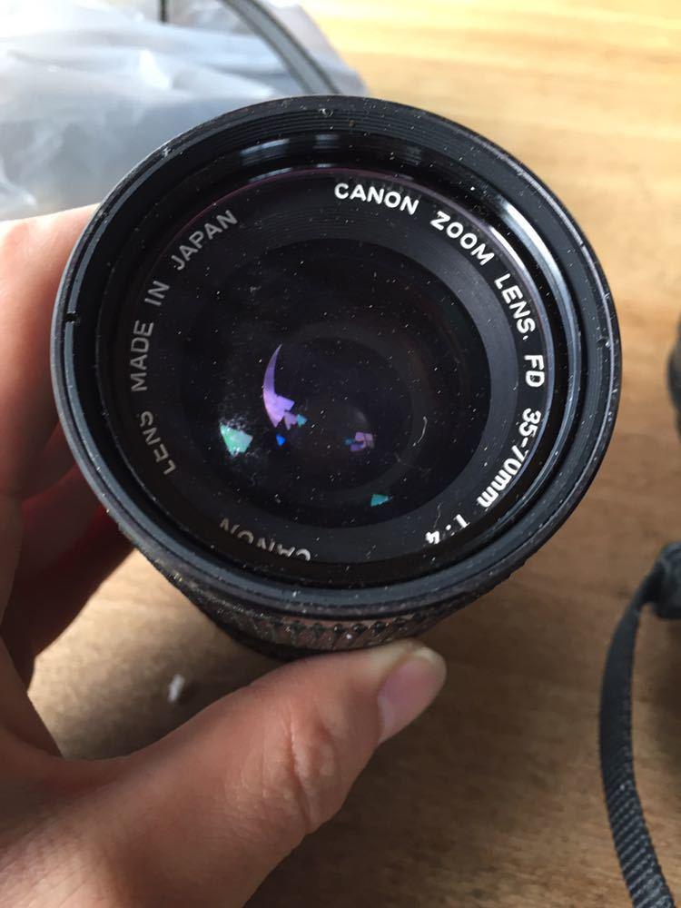 中古 Canon AE-1 ジャンク レンズ 付き_画像2