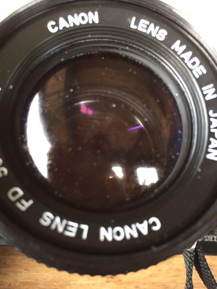 中古 Canon AE-1 ジャンク レンズ 付き_画像4
