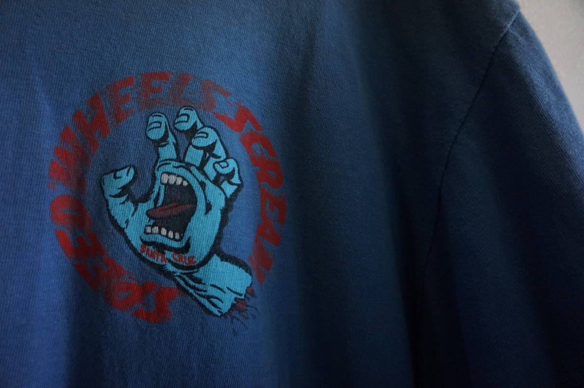 80'S SANTA CRUZ SCREAMING HAND Tee サンタクルーズ ジムフィリップス スクリーミングハンド ヴィンテージ_画像2