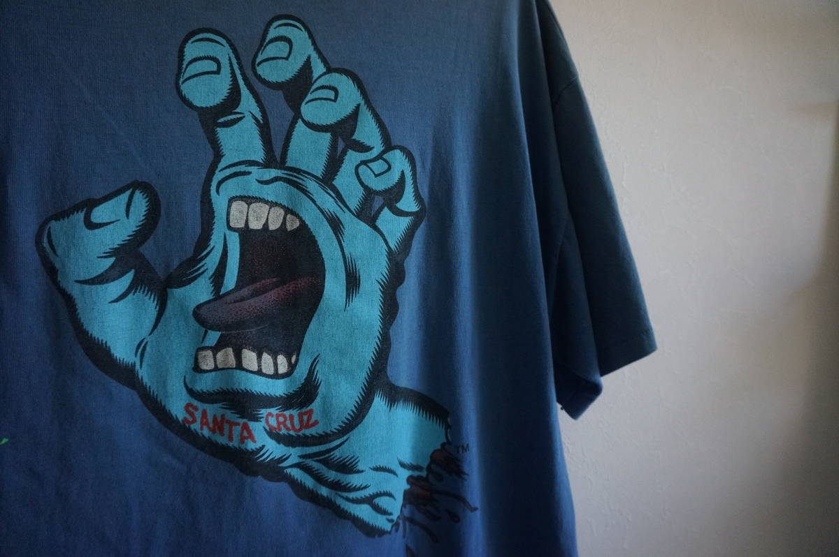 80'S SANTA CRUZ SCREAMING HAND Tee サンタクルーズ ジムフィリップス スクリーミングハンド ヴィンテージ_画像7