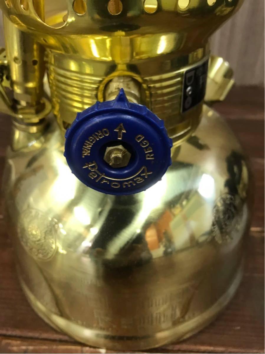 1円 未使用品☆♪4772♪ ペトロマックス HK500 ブラス トップリフレクターセット 灯油ランタン オイルランタン キャンプ用品 キャンプ_画像7