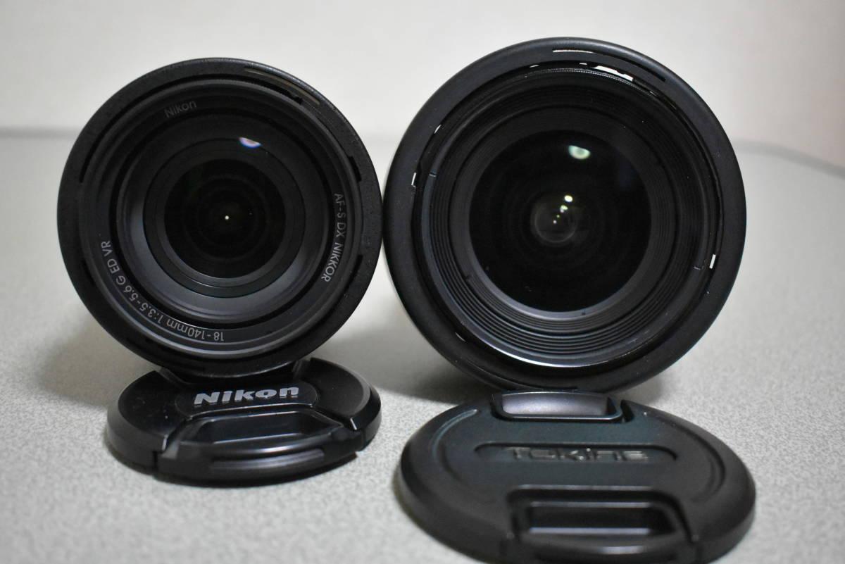 Nikon ニコン d7200 AF-S 18-140VR KIT & Tokina AT-X 12-28 PRO DX F4 おまけ付き_画像5