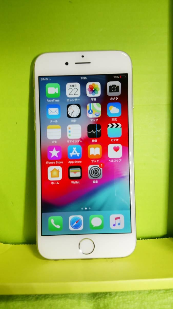 §§SoftBank iPhone 6 64GB シルバー 白 ☆パネル傷なし!バッテリー91%!完動・美品 ☆送料180