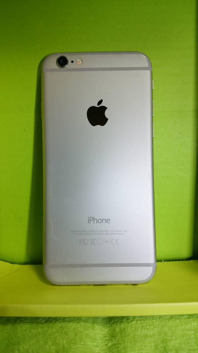 §§SoftBank iPhone 6 64GB シルバー 白 ☆パネル傷なし!バッテリー91%!完動・美品 ☆送料180_画像5