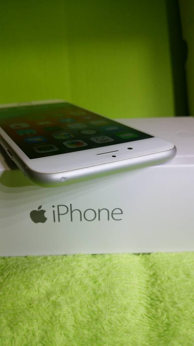 §§SoftBank iPhone 6 64GB シルバー 白 ☆パネル傷なし!バッテリー91%!完動・美品 ☆送料180_画像6