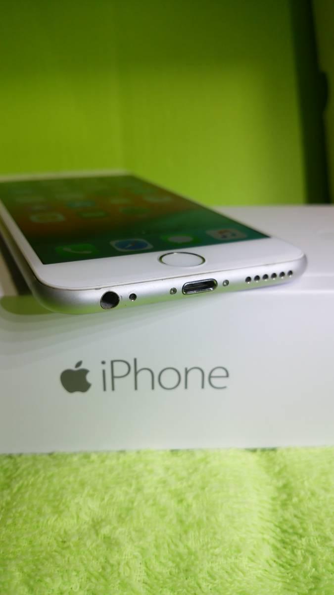 §§SoftBank iPhone 6 64GB シルバー 白 ☆パネル傷なし!バッテリー91%!完動・美品 ☆送料180_画像7