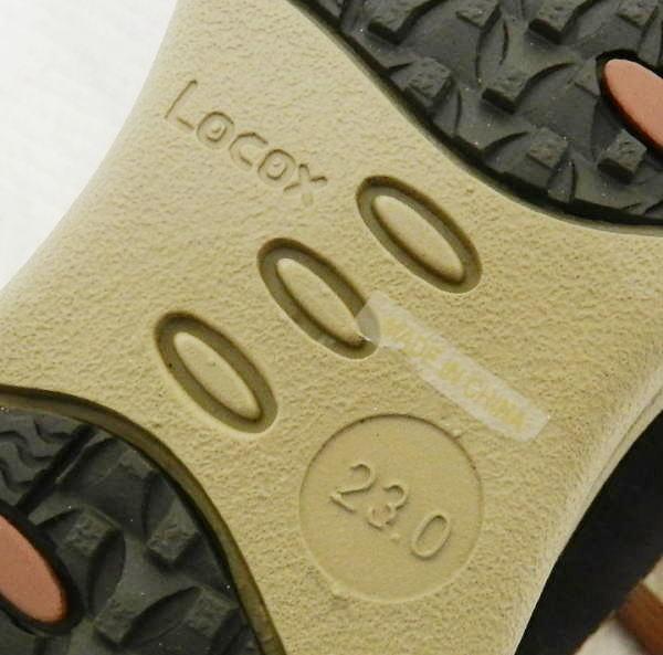 ■ LOCOX ロコックス ワイドステップウォーカー レディース ブラック 23.0cm ウォーキングシューズ 室内にて1回試し履きのみ!_画像10