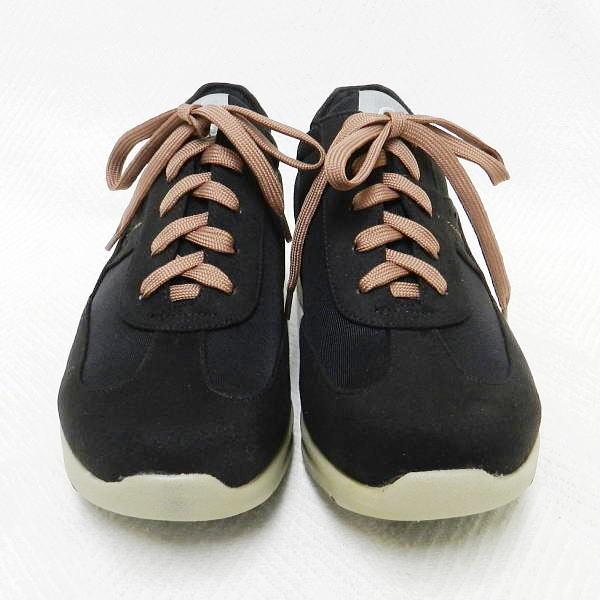 ■ LOCOX ロコックス ワイドステップウォーカー レディース ブラック 23.0cm ウォーキングシューズ 室内にて1回試し履きのみ!_画像2