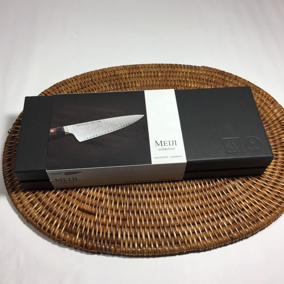 ZWILLING HENCKELS KRAMER ボブ・クレーマー Meiji Collection メイジ フラワー ダマスカス 刃渡り10cm ペティナイフ レア品_画像8