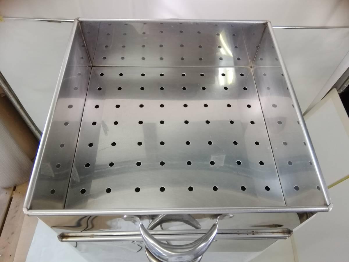 MTH322 蒸し器 業務用 2段蒸し器 三段蒸し器 中古 厨房機器 厨房機材 厨房用品_画像5