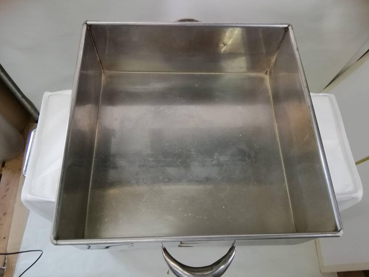 MTH322 蒸し器 業務用 2段蒸し器 三段蒸し器 中古 厨房機器 厨房機材 厨房用品_画像6