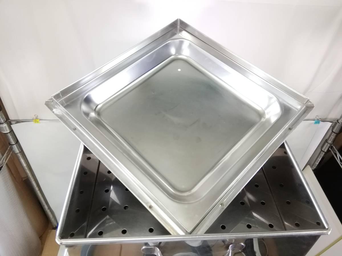 MTH322 蒸し器 業務用 2段蒸し器 三段蒸し器 中古 厨房機器 厨房機材 厨房用品_画像7