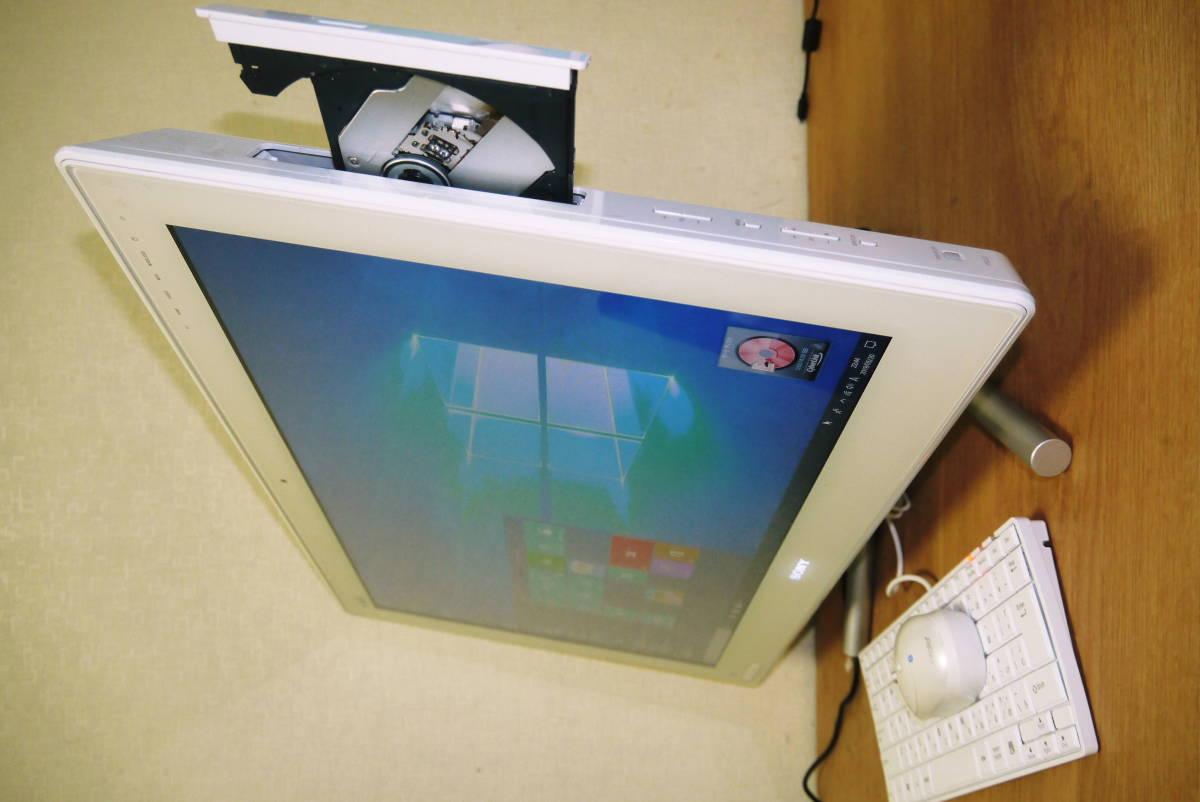 ★★SONYモニター一体型PC★ i5 メモリー 4GB/HDD2TB/Blu-ray/24型ワイド/Win10インストール済み★★_画像3