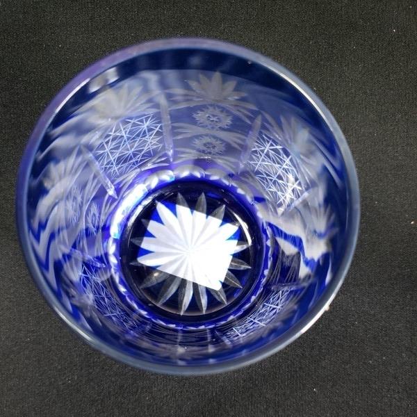 未使用 色被切子ロックグラス 6個セット ガラス食器/業務用/店舗用/カフェ/レストラン_画像6