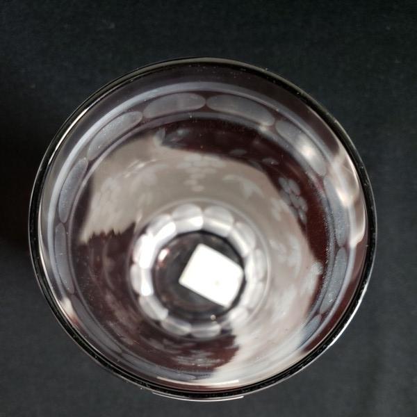 未使用 切子クリスタル 葡萄ブドウタンブラー/グラス 6個セット 石塚硝子 ガラス食器/業務用/店舗用/カフェ/レストラン_画像6