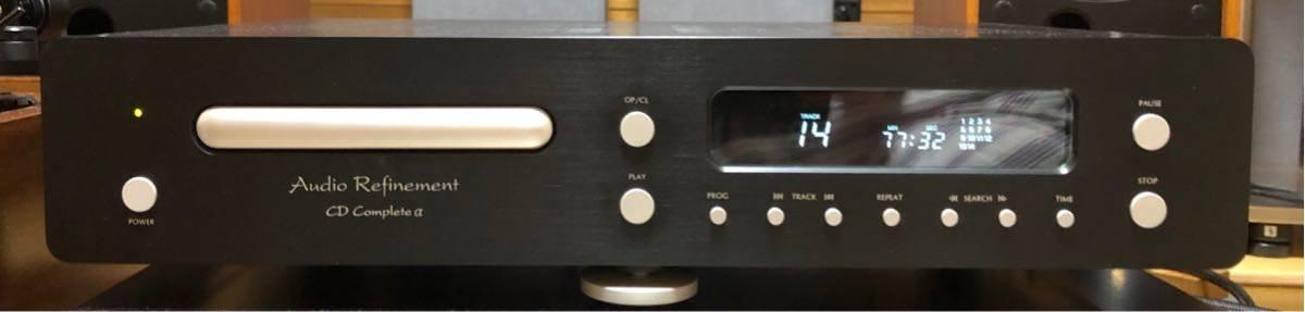 б/у CD плеер .Audio Refinement:CD Complete α аудио Space core по причине часы Tune товар несколько считывание не устойчивость