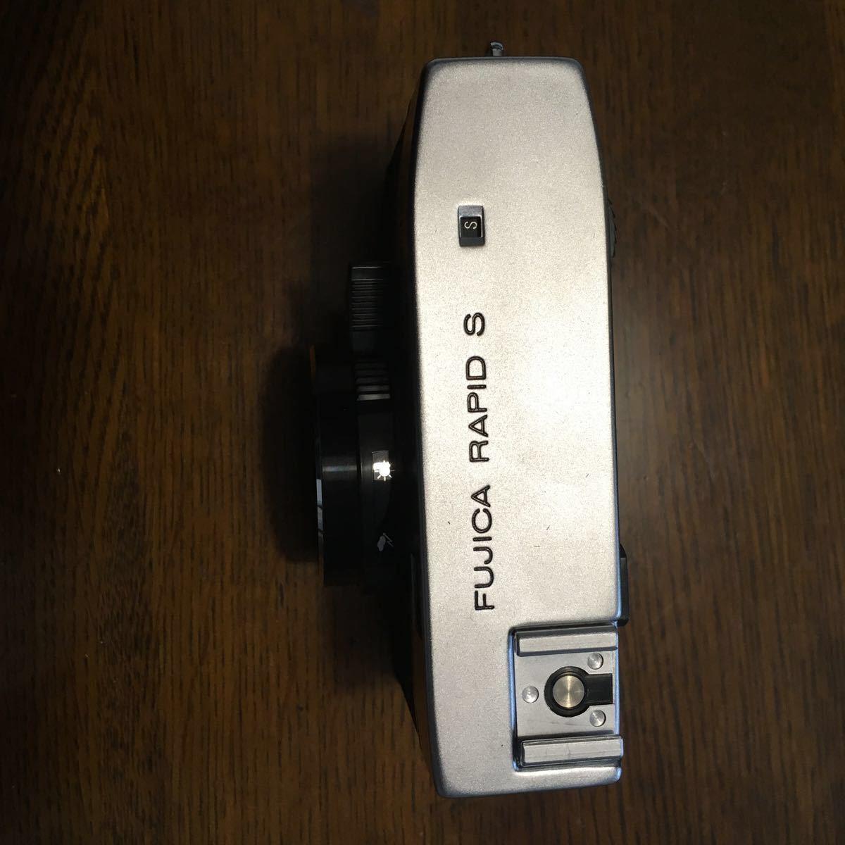 F32 フィルムカメラ FUJICA RAPID S ジャンク 現状渡し 説明書 箱 ケースあり _画像3