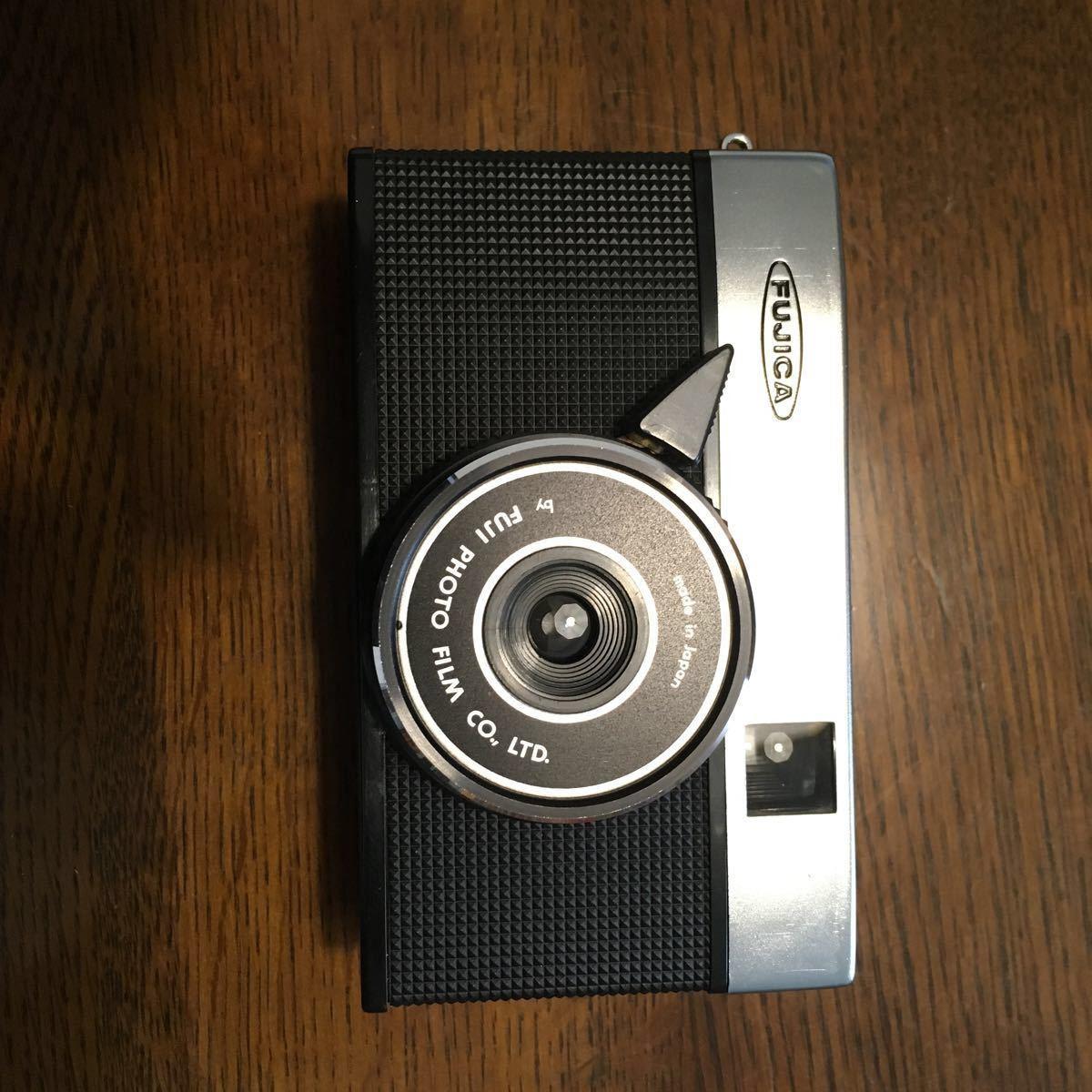 F32 フィルムカメラ FUJICA RAPID S ジャンク 現状渡し 説明書 箱 ケースあり _画像2