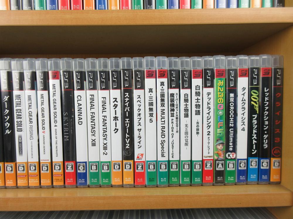 【売り切り】PS3 ソフト 170本セット 大量 まとめて かぶりなし 人気作多数 大人気第4弾【1円】_画像7