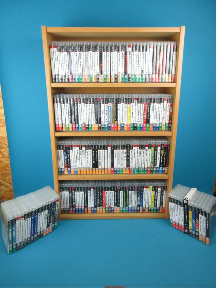 【売り切り】PS3 ソフト 170本セット 大量 まとめて かぶりなし 人気作多数 大人気第4弾【1円】